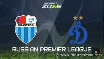 2020-21 Russian Premier League – Rotor Volgograd vs Dinamo Moscow Preview & Prediction - The Stats Zone