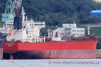 Foreign tanker anchored off Port Hawkesbury dealing with potential cases of COVID-19 - TheChronicleHerald.ca