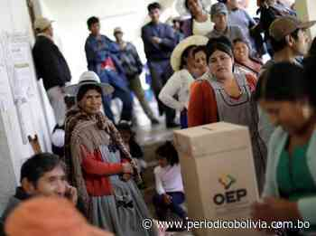 La derecha fue apartada del escenario político - Periódico Bolivia
