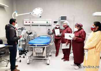 Puno: Minsa entrega equipamiento médico a establecimiento de salud de Putina - Agencia Andina