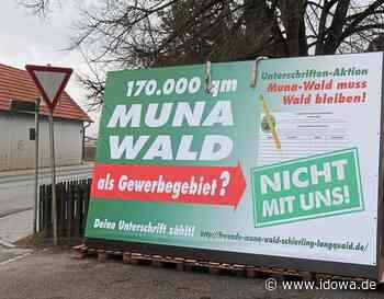 Schierling/Langquaid - Wird sich im Muna-Wald Gewerbe ansiedeln können? - idowa