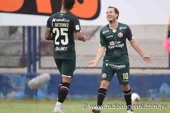 Liga 1: Universitario derrota 1-0 a la Universidad San Martín - Radio Nacional del Perú