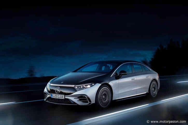 El nuevo Mercedes-Benz EQS, con 770 km de autonomía y hasta 762 CV, es el primer coche eléctrico realmente de... - Motorpasion