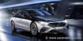 Mercedes EQS: El eléctrico más sofisticado ha llegado - Car and Driver