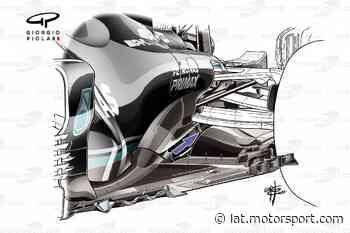 Cómo Mercedes F1 trata de recuperar carga aerodinámica en el W12 - Motorsport.com Latinoamérica