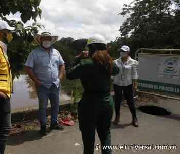 Nuevamente colapsó el puente que comunica a Ayapel con el resto del país - El Universal - Colombia