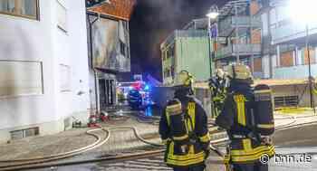 Drei Verletzte bei Brand eines Mehrfamilienhauses in Renchen - BNN - Badische Neueste Nachrichten