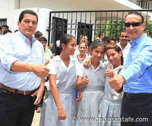 Gobernador Cruz entrega obras en Guataquí - Radio Santa Fe