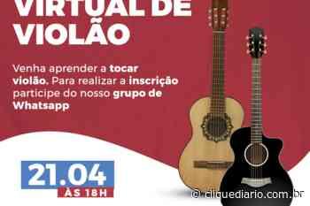 Em Casimiro de Abreu, Fundação Cultural realiza Encontro Virtual de Violão - Clique Diário