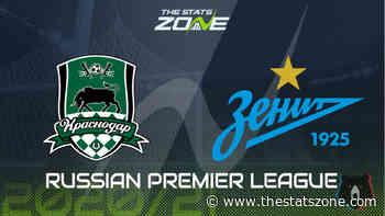 2020-21 Russian Premier League – Krasnodar vs Zenit Preview & Prediction - The Stats Zone