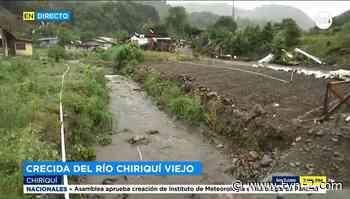 Cuadrillas realizan trabajo en el río Chiriquí Viejo - TVN Panamá