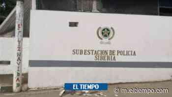 Lanzan explosivo contra la Policía de Caldono, Cauca - ElTiempo.com