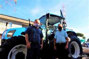 Ortigueira recebe novo trator para Patrulha Rural | A Rede - Aconteceu. Tá na aRede! - ARede