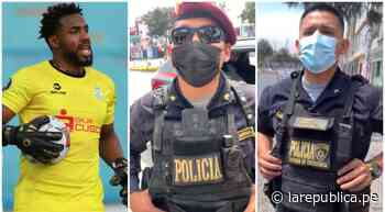 Futbolista de Unión Huaral denuncia racismo durante intervención policial - LaRepública.pe