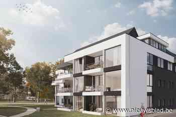 Bouwproject met veertien appartementen naast park Brouwershof