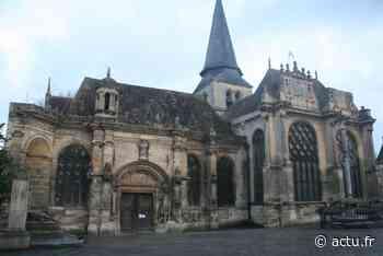Val-d'Oise. Église de Magny-en-Vexin : premiers travaux à un million d'euros - actu.fr