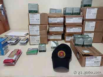 Caminhoneiro é preso com quase 7 mil munições em Altamira, no Pará - G1