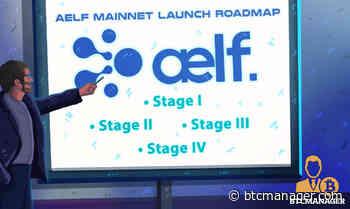 aelf (ELF) Mainnet Launch Roadmap Announcement Details   BTCMANAGER - BTCMANAGER