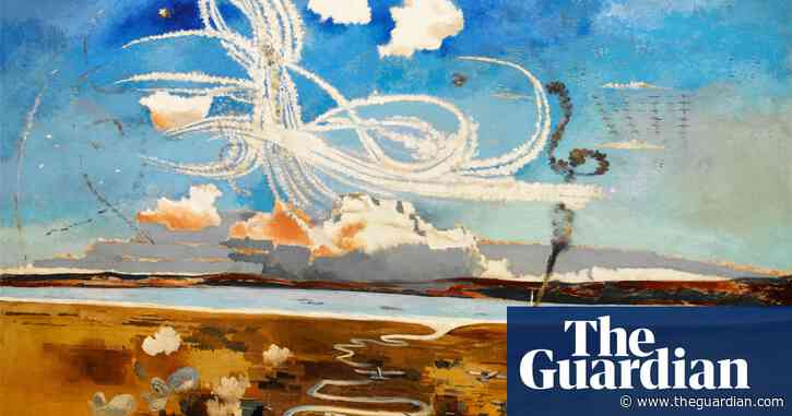 The Great British Art Tour: smoke tracks in a summer sky and Britain's fight for survival