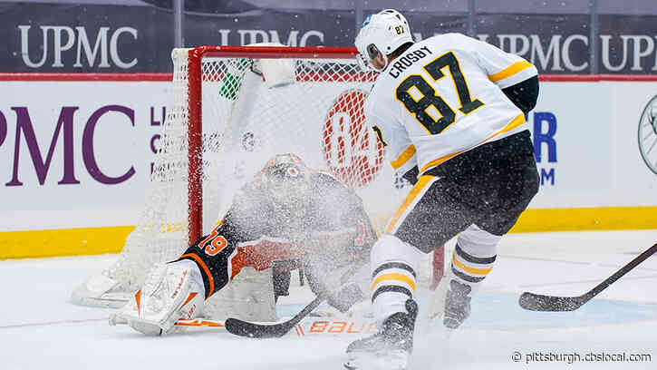 Crosby's Incredible Goal Not Enough, Flyers Beat Penguins 2-1 In Shootout