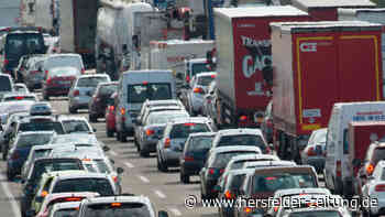 Lkw-Unfall auf A5: Autobahn-Sperrung sorgt für Stau bei Friedberg - Hersfelder Zeitung