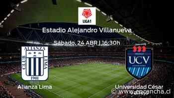 Alianza Lima vs Universidad César Vallejo: Programación y previa - EnCancha.cl