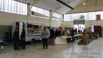 Un stand de dépistage anti-Covid au marché de Rethel, ce jeudi - L'Ardennais