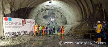 Culminó la excavación de la calzada izquierda del Túnel de Amagá, Antioquia - Radio Santa Fe