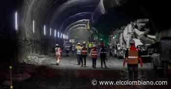 Se unieron los dos frentes de excavación en el túnel de Amagá - El Colombiano