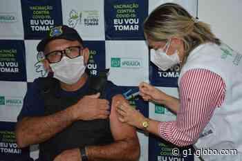 Ipojuca amplia vacinação contra a Covid-19 para idosos a partir de 64 anos e começa a imunizar guardas municipais - G1