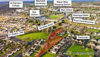 Maynooth site with planning for nine houses sells at auction - Independent.ie