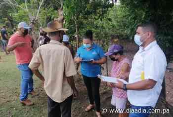 Evalúan a dos familias de Ocú afectadas por desprendimiento de rocas e incendio - Día a día
