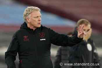 David Moyes: West Ham must take advantage of top-four rivals' weekend off