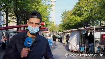 Le marché Cours de Vincennes : le circuit court d'Adam, supporter du PSG - France Bleu