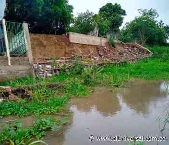 Soplaviento: ¿quién es el responsable del deterioro de los muros de contención? - El Universal - Colombia