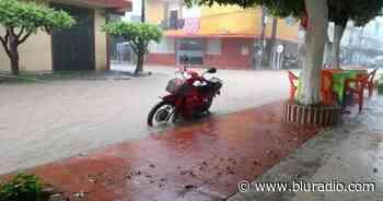 Cimitarra y Rionegro, en Santander, inundados tras fuertes lluvias - Blu Radio