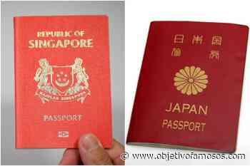 El pasaporte S'pore sigue siendo el segundo pasaporte más poderoso del mundo, después de las noticias de Japón, Singapur y las noticias más recientes. - Objetivo Famosos.com