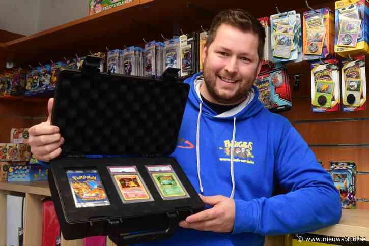"""Kempenaar bezit zeldzaamste Pokémonkaart: """"Ik kreeg al een bod van 415.000 euro, maar dat heb ik afgeslagen"""""""