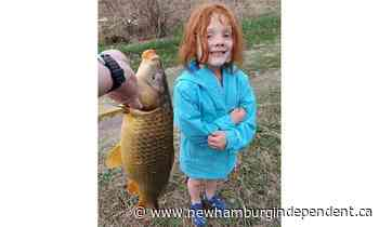 New Hamburg Through Your Lens: 'Carpe diem!' Local girl catches first fish on the Nith River - The New Hamburg Independent