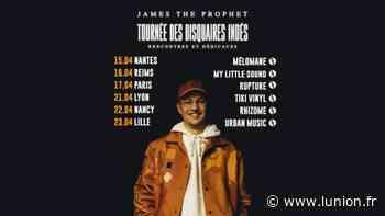 Le rappeur James The Prophet en dédicaces à Reims - L'Union