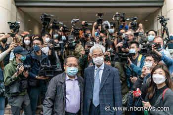 Hong Kong democracy leaders given jail terms amid Beijing crackdown