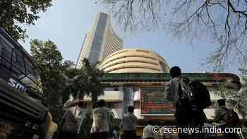COVID surge weighs on investors' sentiments, Sensex, Nifty end marginally higher