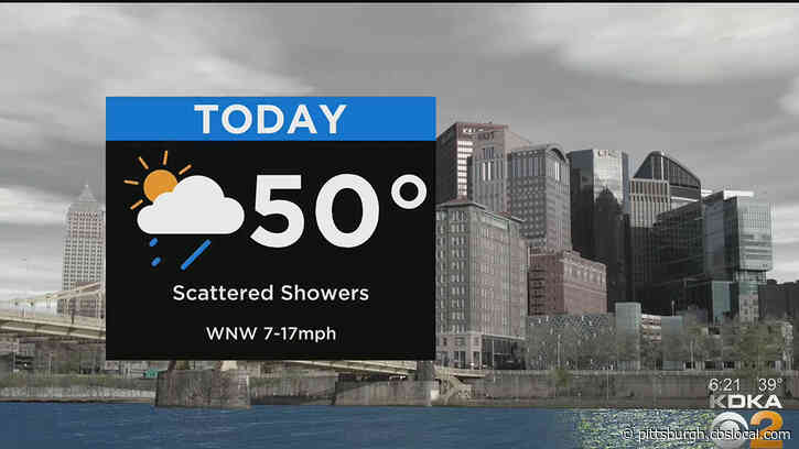 Pittsburgh Weather: The Weekend Starts Cool And Cloudy