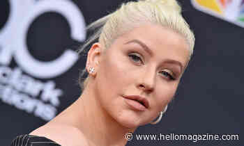 Christina Aguilera poses up a storm in jaw-dropping new photo - HELLO!