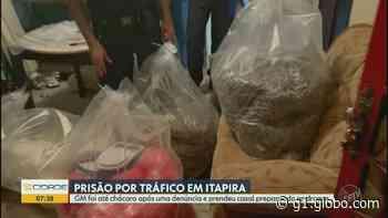 Guarda Municipal apreende cerca de 40kg de cocaína em chácara de Itapira e prende duas pessoas - G1