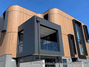Curves enabled by Cemintel Territory panels turn heads at Geelong townhouses - Architecture and Design