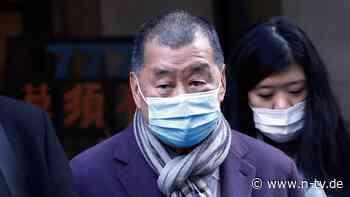 Hongkonger Lai verurteilt: Peking-kritischer Medienmogul muss in Haft