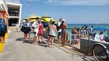 Embarcaciones violan aforo permitido en la ruta marítima Playa del Carmen-Cozumel - PorEsto