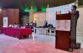 Autoridades subnacionales de Potosí reciben credenciales para sus funciones - eju.tv