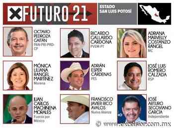 Candidatos a gobernador en San Luis Potosí 2021 - Excélsior